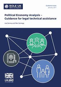 Political Economy Analysis  Guidance For Legal Technical