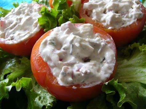 cuisine entr s froides tomates farcies aux fromages photo de entrées froides et