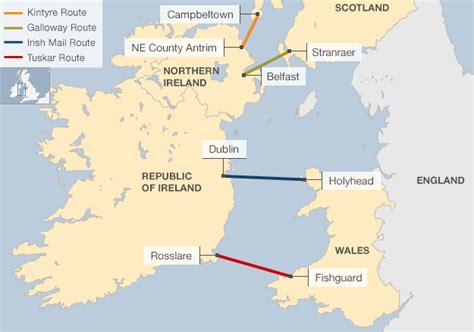 A Bridge Across The Irish Sea And Four Other Amazing Plans