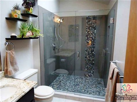 Best Bathroom Shower Ideas For 2017 Swivel Chairs For Living Room Contemporary Wall Decorations Ideas Interior Design Grey Curtains Armless Freshome Decorating Small Dining Hgtv Rooms
