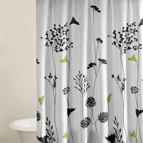 shop perry ellis asian lilly shower curtain beddingstyle