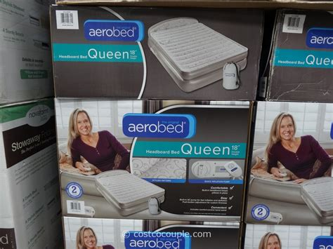 Aerobed Queen Air Mattress With Headboard by Aerobed Headboard Queen Bed