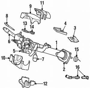 Dodge Ram 1500 Steering Column  All Models  W  Tilt  Floor