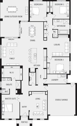 lincoln  home floor plans interactive house plans