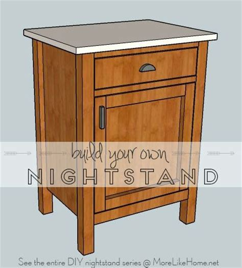 build   nightstand plans woodworking projects plans