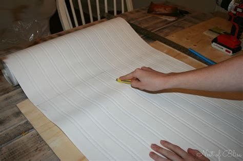 Diy Beadboard Kitchen Cabinets : Diy Beadboard Wallpaper Cabinets