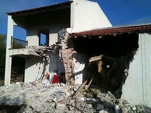 Cout Demolition Maison : d molition maison bois c t sud ~ Melissatoandfro.com Idées de Décoration