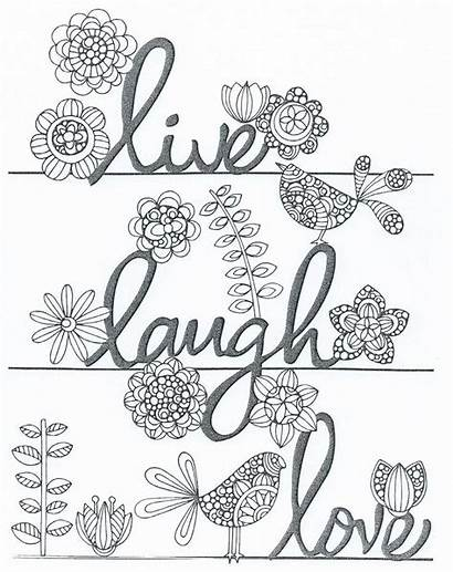 Coloring Pages Laugh Adult Books Sheets Zentangle