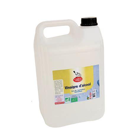 vinaigre d alcool blanc cuisine vinaigre d 39 alcool bio 8 5l la droguerie écologique