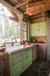 rustic cabin kitchen ideas collection of rustic kitchens town country living