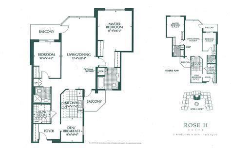 Atrium Suites Floor Plans