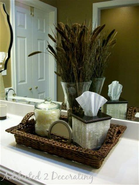 Bathroom Counter Accessories by Best 25 Bathroom Counter Decor Ideas On Pinterest