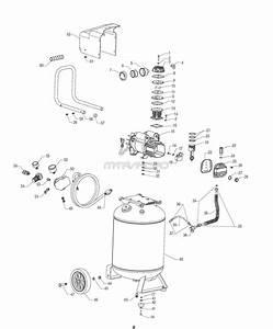 Sears Craftsman 921 166400 Air Compressor Parts