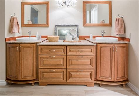 jk cinnamon color bathroom cabinets  east valley az
