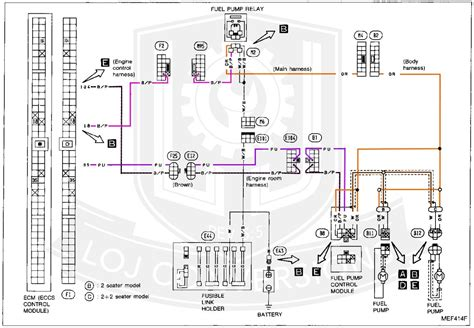 1993 Nissan 240sx Wiring Diagram by Wrg 1178 300zx Motor Wiring Harness