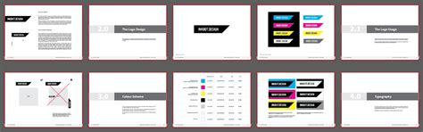 free brand guidelines template free brand guidelines template for pdf logo presentation