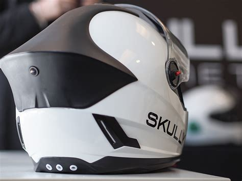 Aussenle Mit Integrierter Kamera by Smart Helmet From Skully Coming Up Noramericast