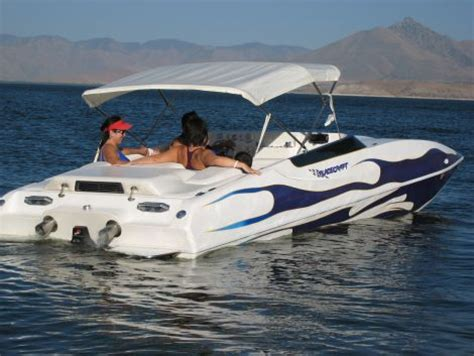 Placecraft Deck Boats For Sale by 2002 22 Foot Placecraft Sport Deck Power Boat For Sale In