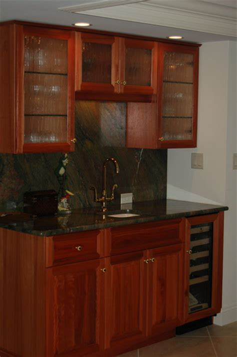 Custom Wall Units  Traditional  Dining Room  Miami By