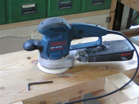 review bosch gex 125 ac random orbital sander by greedo lumberjocks woodworking community