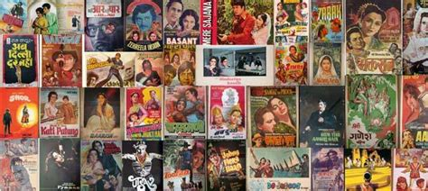 years  indian cinema  big bollywood poster collage