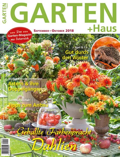 Whirlpool Im Garten Zu Laut by Garten Haus September Oktober 2018 Das Sind Die Themen