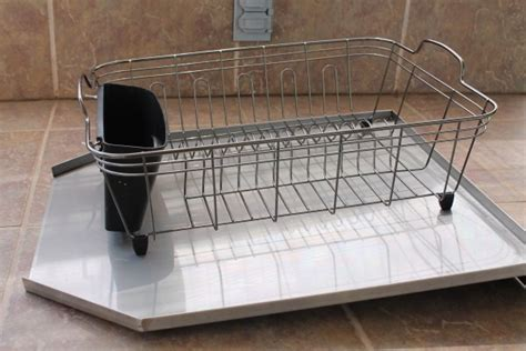 heavy stainless steel sloped drainboard for kitchen sinks