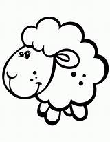 Sheep Coloring Pages sketch template