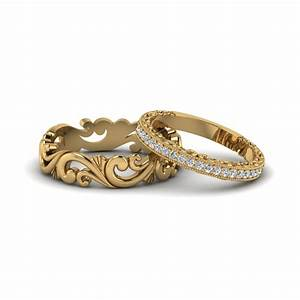filigree wedding rings his and hers matching sets With matching wedding and engagement ring sets