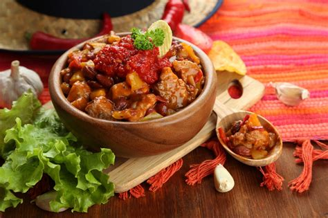 chili cuisine chili with some tasty foods elsoar