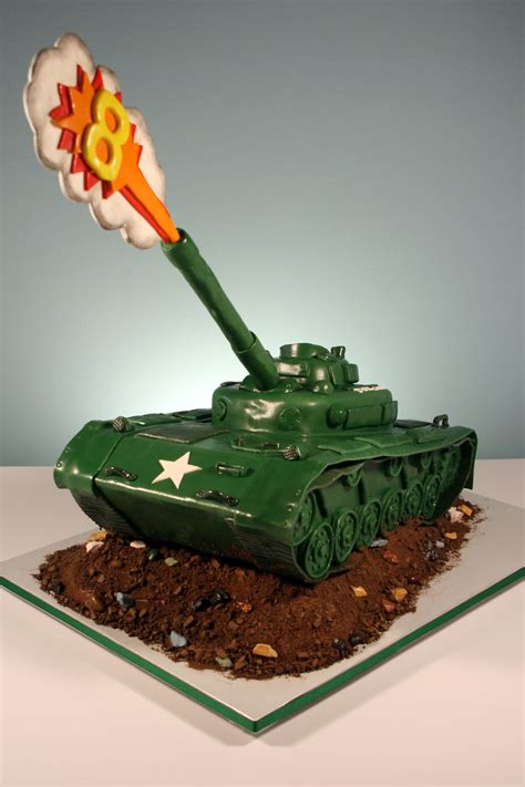 See more ideas about cake, cupcake cakes, nursing cake. Army Tank - CakeCentral.com