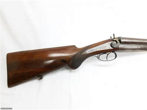 Double Original Hammer Underlever Shotgun 16 Ga Made In