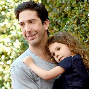David Schwimmer Shows Off Adorable Daughter Cleo, 4, at ...