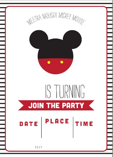 mickey mouse clubhouse birthday invitations bagvania