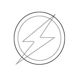 Flash Superhero Logo Template