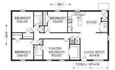bedroom house plans  square feet home plans