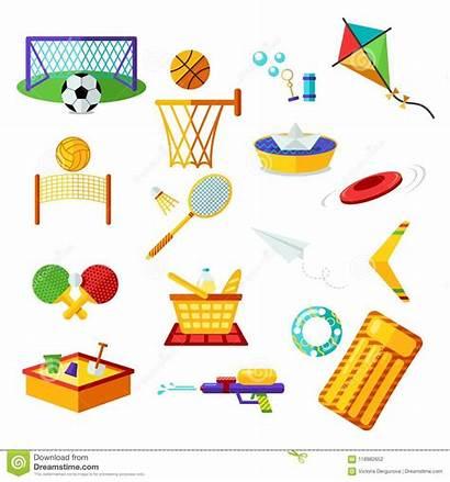 Activity Activities Summer Holiday Symbols Outdoor Recreation