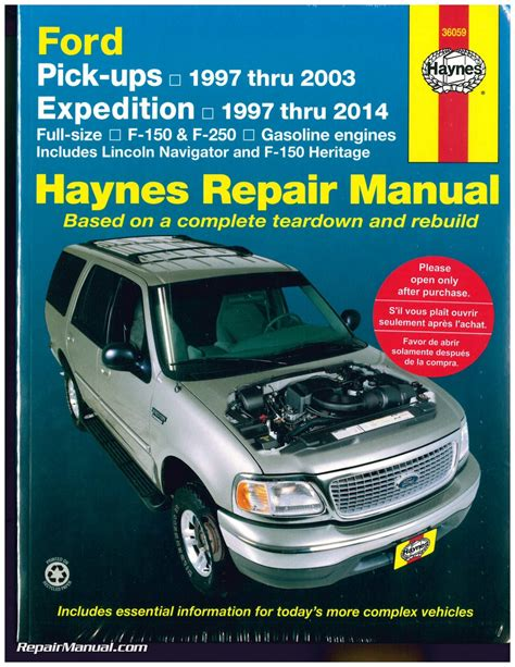 car engine manuals 2004 ford excursion user handbook 1997 ford expedition owners manual online