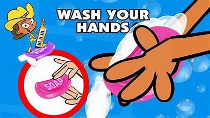 Hands Wash Song Animated Children Funny Preschool