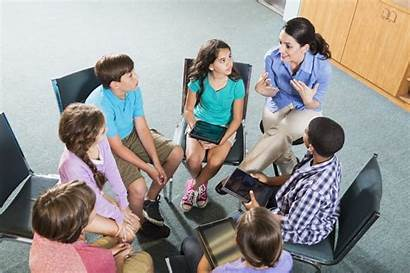 Teacher Discussion Classroom Children Environment Centered Student