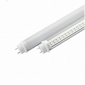 Tube Led 120 Cm : tube led t8 120cm 18 watt verre transparent ~ Dallasstarsshop.com Idées de Décoration