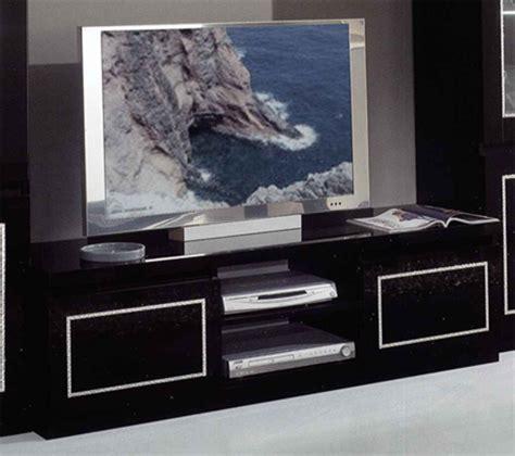 meuble tv plasma chic laque noir