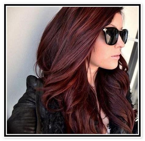 dark mahogany brown hair color  braveness  mahogany