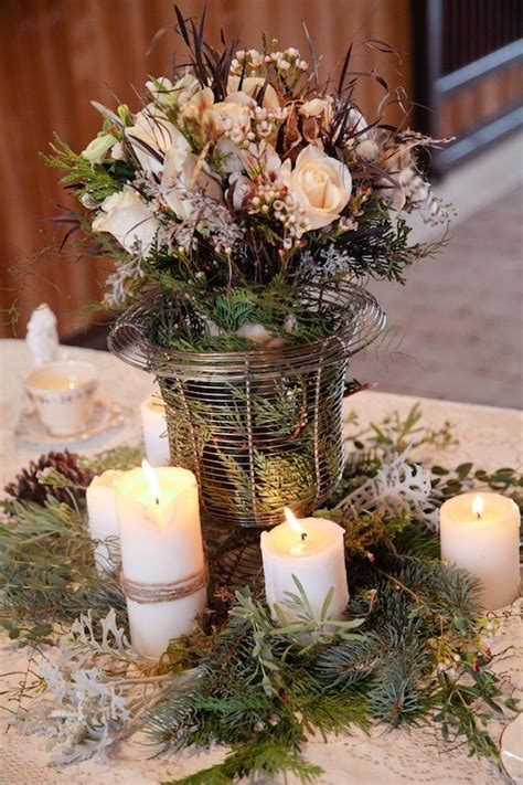 winter table centerpiece ideas winter table centerpiece ideas table decor for weddings parites pinterest centerpiece