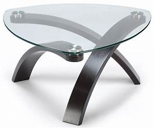 Belfort select allure cocktail table with glass top and for Allure coffee table