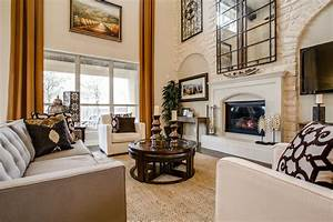 Toll Brothers - Contemporary - Family Room - dallas - by