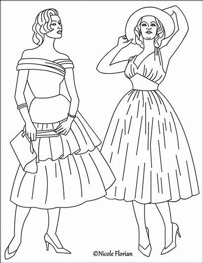 Coloring Pages Nicole Retro Adult Books Adults