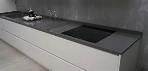 Plan De Travail Céramique : plan de travail lapitec ~ Dailycaller-alerts.com Idées de Décoration