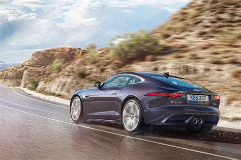 2016 Jaguar F-type Adds Manual Transmission, Awd