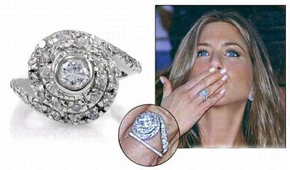 angelina jolie s engagement ring details arabia weddings